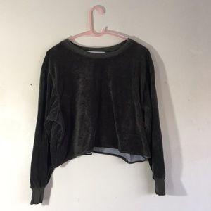 Midi Velvet Sweater